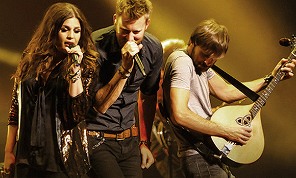 Lady Antebellum, Hunter Hayes & Sam Hunt at Oak Mountain Amphitheatre