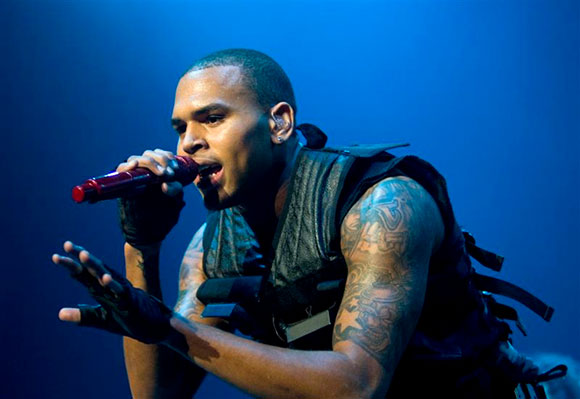 Chris Brown, Kid Ink & Omarion at Oak Mountain Amphitheatre