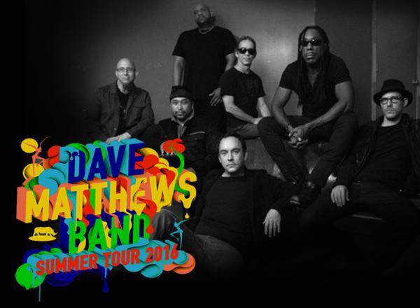 Dave Matthews Band Summer Tour 2016 at Oak Mountain Amphitheatre