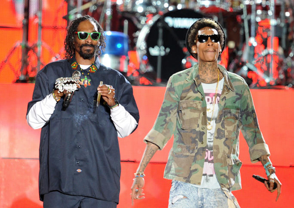 Snoop Dogg, Wiz Khalifa, Kevin Gates & Jhene Aiko at Oak Mountain Amphitheatre