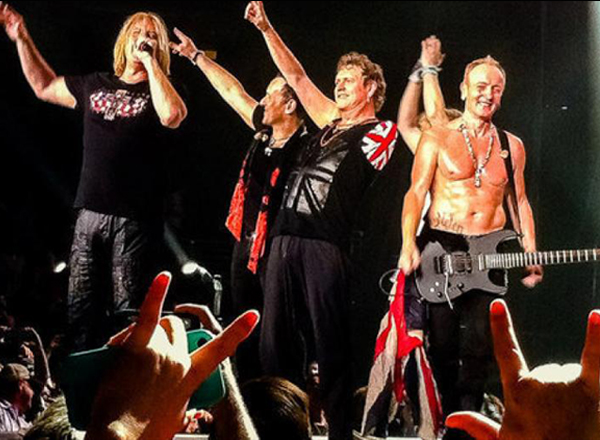 Def Leppard, REO Speedwagon & Tesla at Oak Mountain Amphitheatre