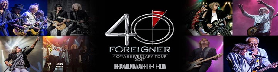 Foreigner, Cheap Trick & Jason Bonham's Led Zeppelin Experience at Oak Mountain Amphitheatre