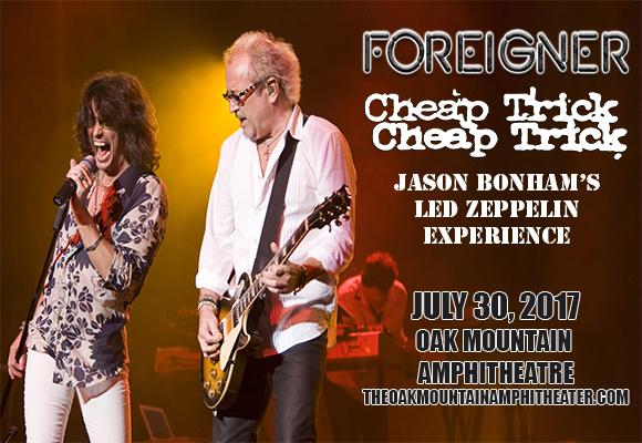 Foreigner, Cheap Trick & Jason Bonham's Led Zeppelin Experience at Oak Mountain Amphitheatre