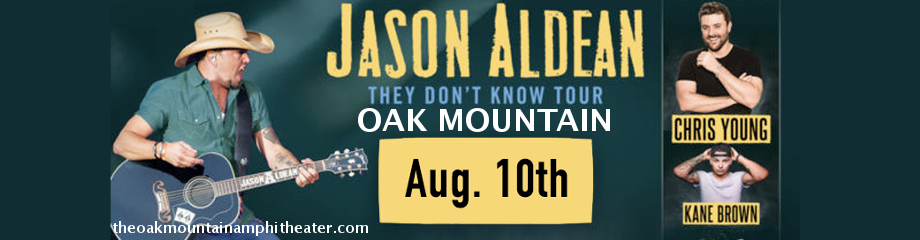 Jason Aldean, Chris Young & Kane Brown  at Oak Mountain Amphitheatre
