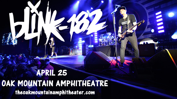 Blink 182, The Naked and Famous & Wavves at Oak Mountain Amphitheatre