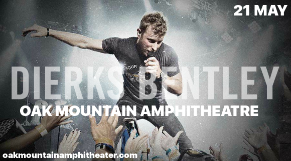 Dierks Bentley, Cole Swindell & Jon Pardi  at Oak Mountain Amphitheatre