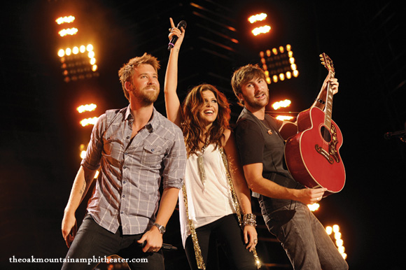 Lady Antebellum, Kelsea Ballerini & Brett Young at Oak Mountain Amphitheatre