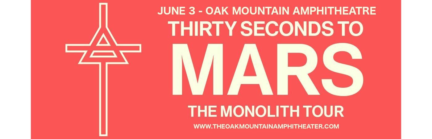 30 Seconds To Mars & Welshly Arms at Oak Mountain Amphitheatre