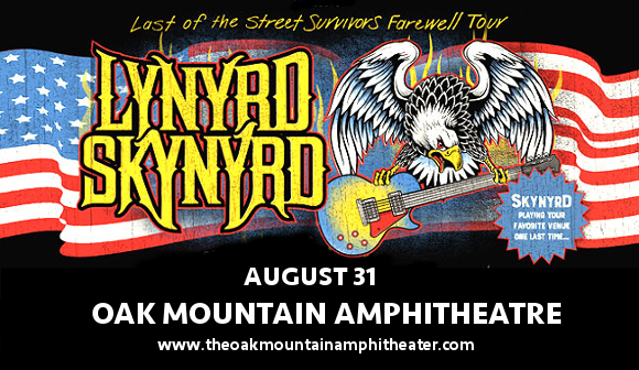 Lynyrd Skynyrd at Oak Mountain Amphitheatre