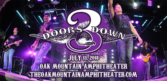 3 Doors Down & Collective Soul at Oak Mountain Amphitheatre