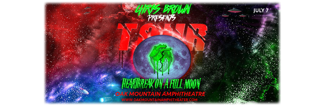 Chris Brown at Oak Mountain Amphitheatre