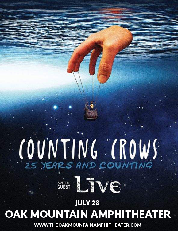 Counting Crows & Live - Band at Oak Mountain Amphitheatre