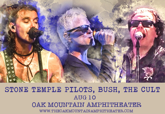 The Cult, Stone Temple Pilots & Bush at Oak Mountain Amphitheatre