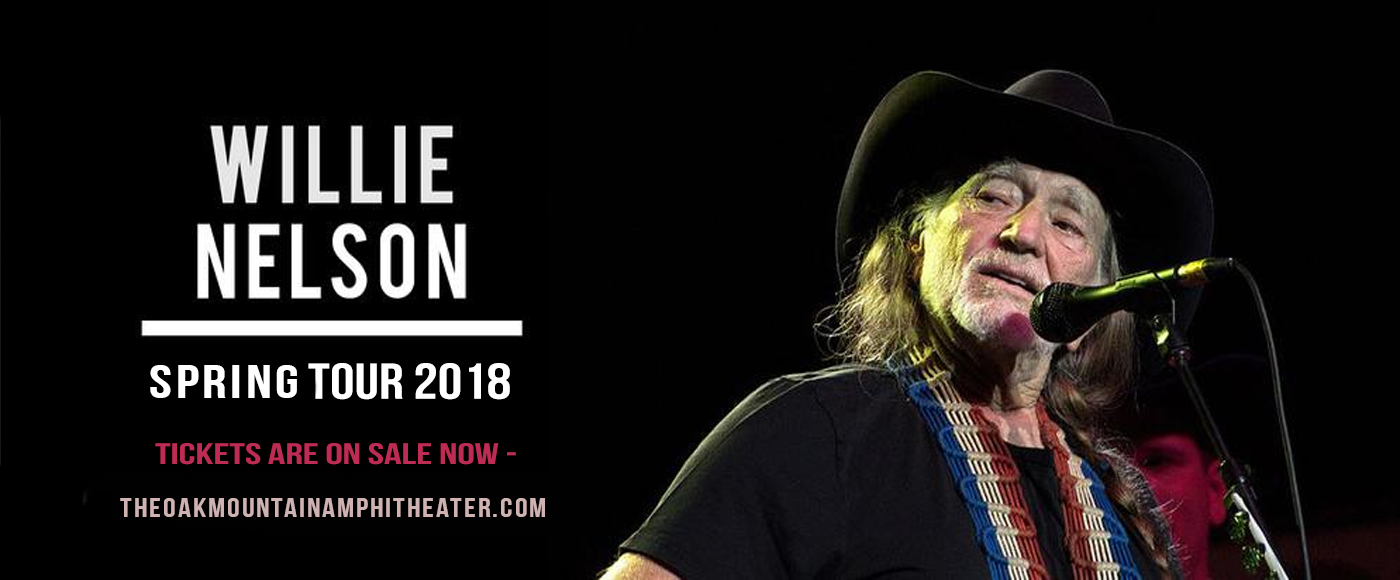 Willie Nelson at Oak Mountain Amphitheatre