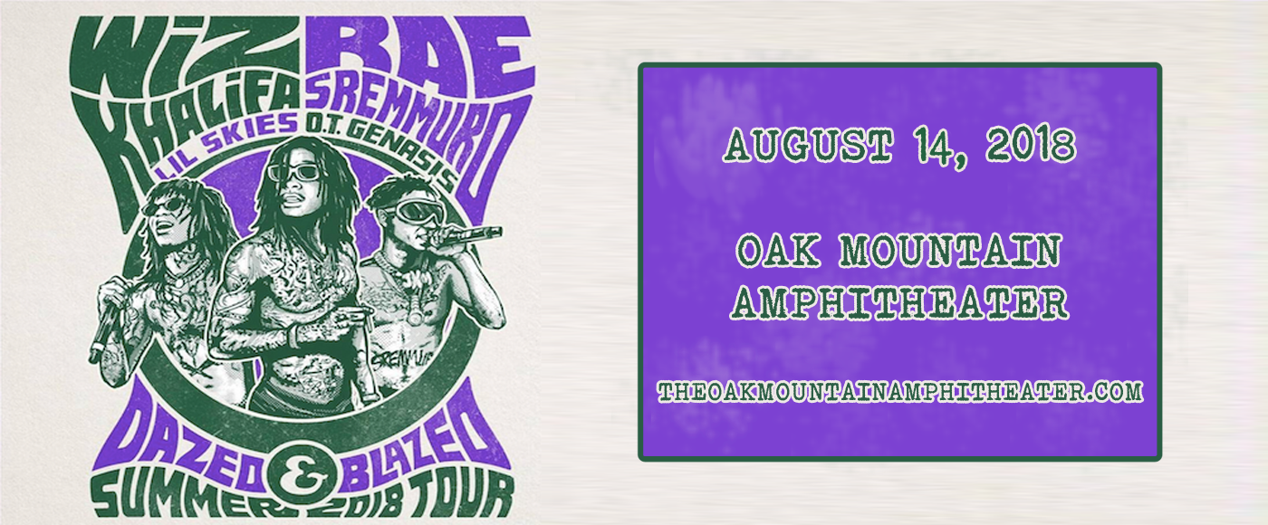 Wiz Khalifa & Rae Sremmurd at Oak Mountain Amphitheatre