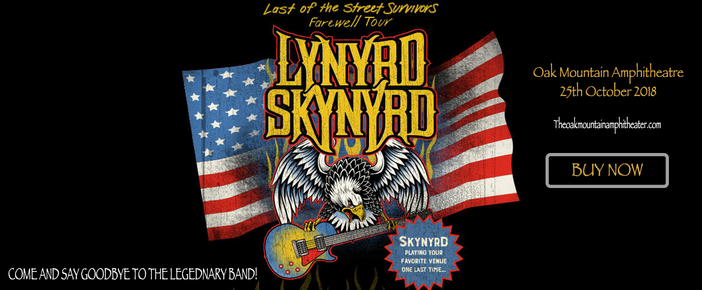 Lynyrd Skynyrd & Hank Williams Jr. at Oak Mountain Amphitheatre
