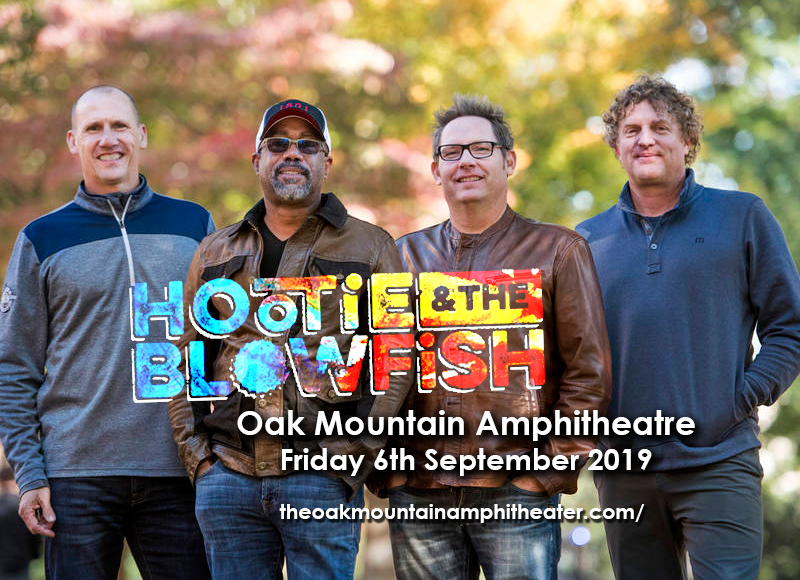 Hootie & The Blowfish at Oak Mountain Amphitheatre