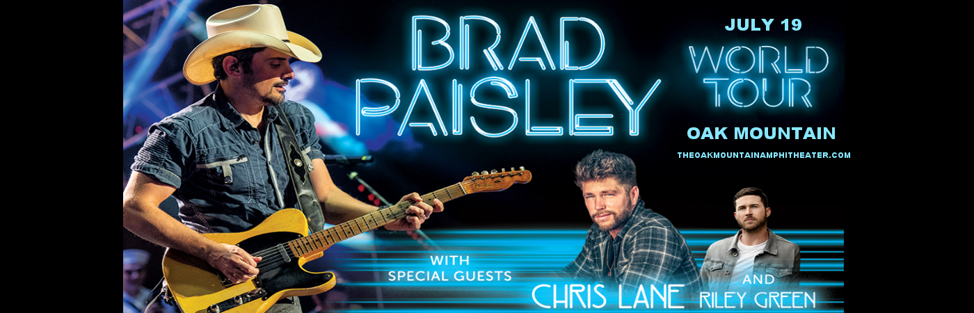 Brad Paisley at Oak Mountain Amphitheatre
