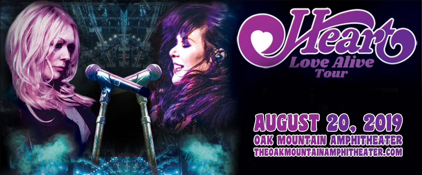 Heart, Brandi Carlile & Elle King at Oak Mountain Amphitheatre