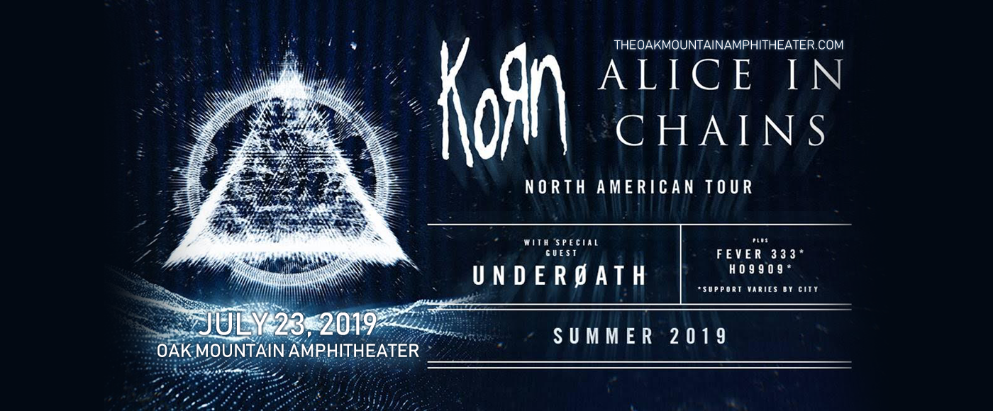 Korn & Alice In Chains at Oak Mountain Amphitheatre