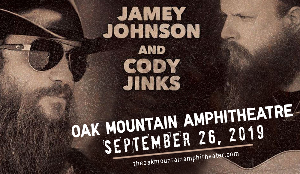 Jamey Johnson & Cody Jinks at Oak Mountain Amphitheatre