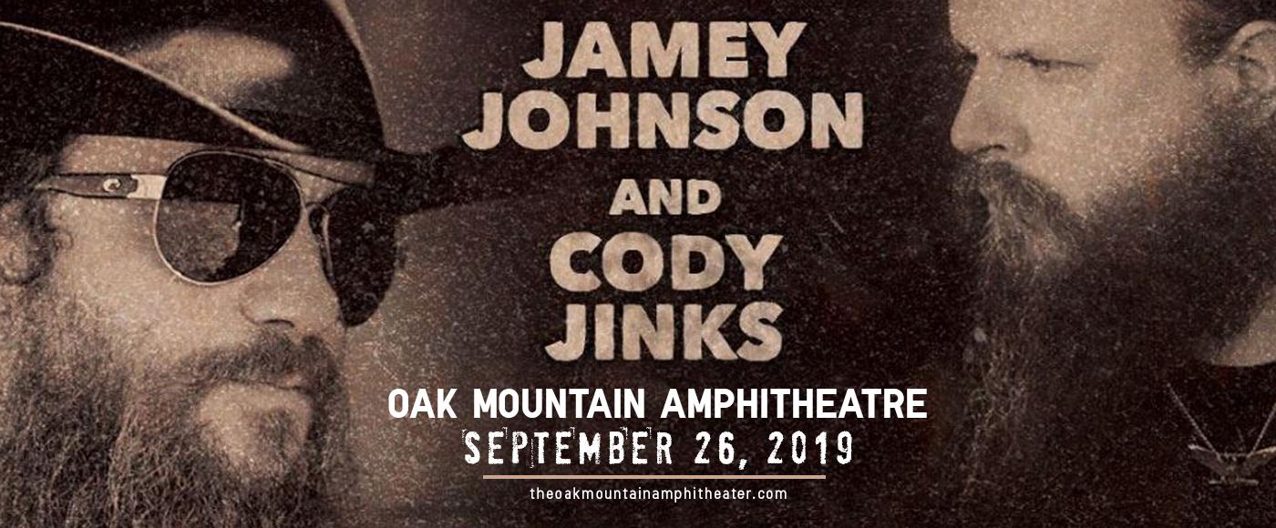 Jamey Johnson & Cody Jinks at Oak Mountain Amphitheatre