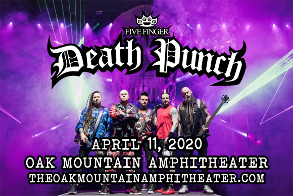 Five Finger Death Punch, Papa Roach, I Prevail & Ice Nine Kills at Oak Mountain Amphitheatre
