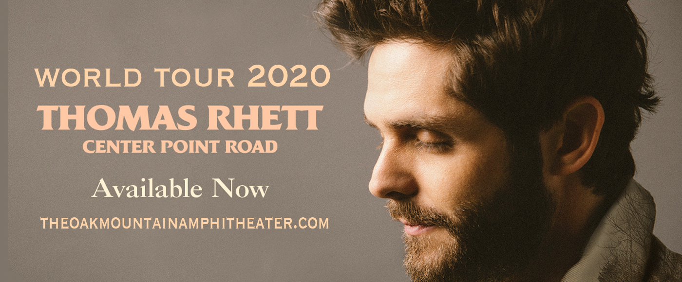 Thomas Rhett & Cole Swindell at Oak Mountain Amphitheatre