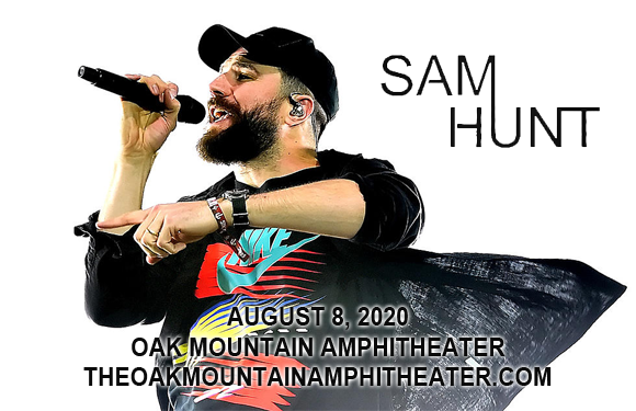 Sam Hunt, Kip Moore & Travis Denning at Oak Mountain Amphitheatre