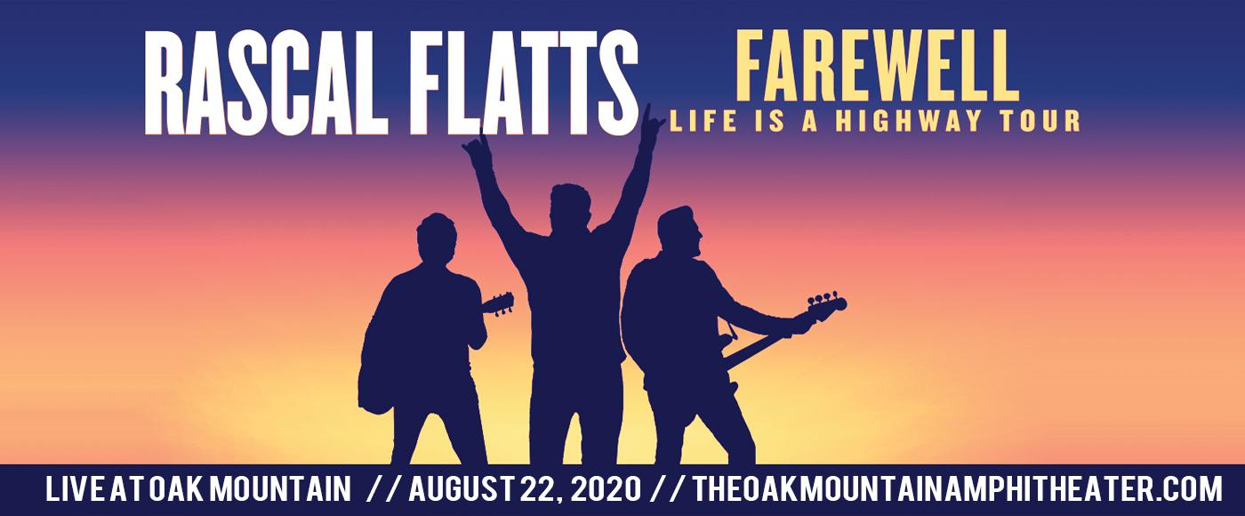 Rascal Flatts at Oak Mountain Amphitheatre