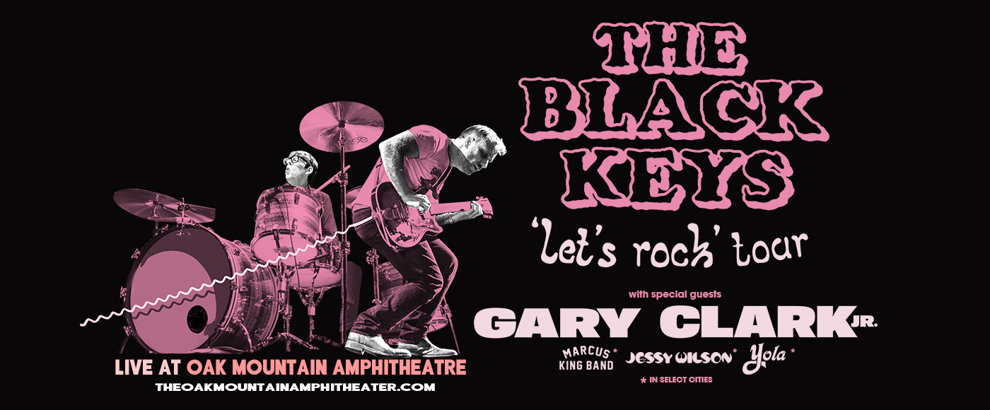 The Black Keys [CANCELLED] at Oak Mountain Amphitheatre