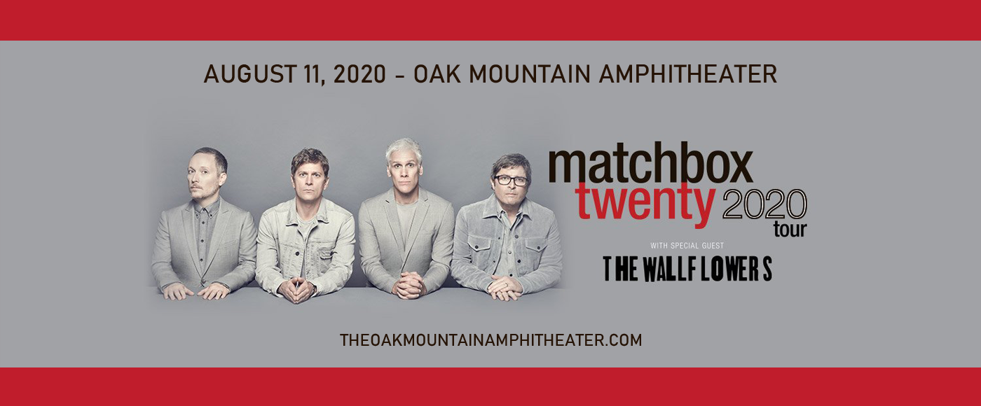 Matchbox Twenty & The Wallflowers [POSTPONED] at Oak Mountain Amphitheatre