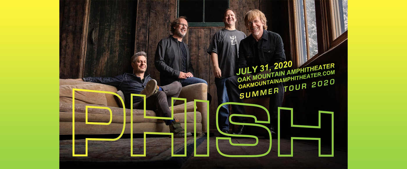 Phish at Oak Mountain Amphitheatre