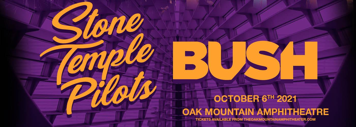 Stone Temple Pilots, Bush & Black Map [CANCELLED] at Oak Mountain Amphitheatre
