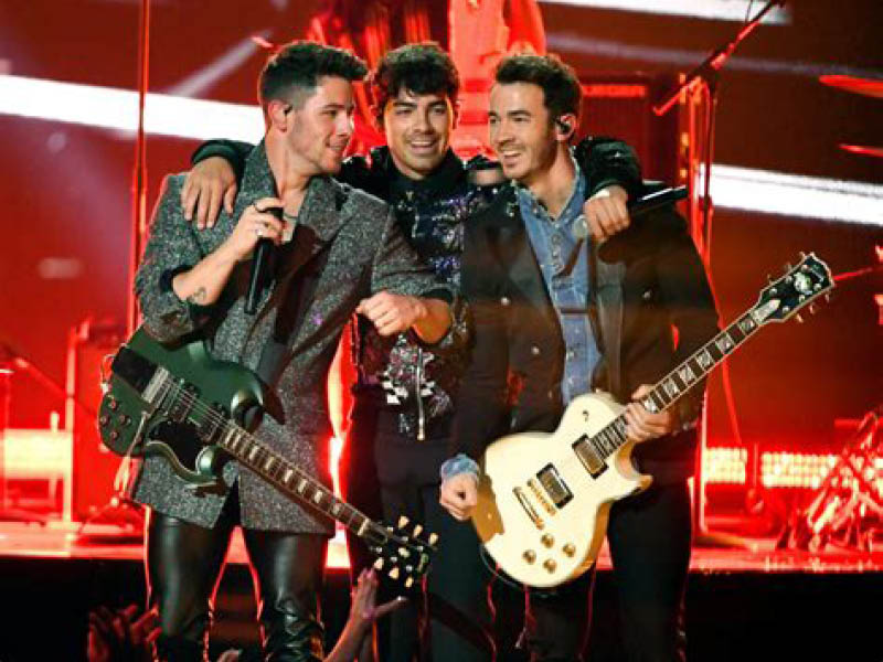 The Jonas Brothers [CANCELLED] at Oak Mountain Amphitheatre