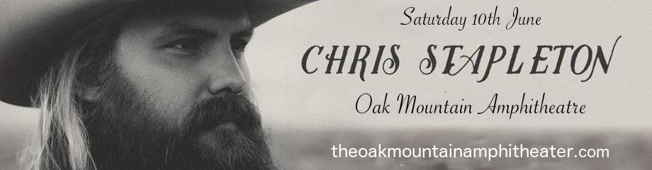 Chris Stapleton, Anderson East & Brent Cobb at Oak Mountain Amphitheatre