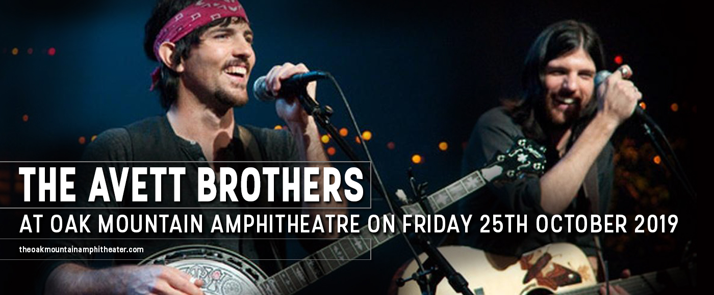 The Avett Brothers at Oak Mountain Amphitheatre