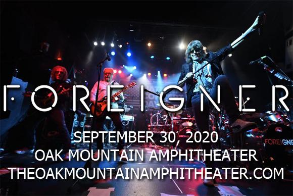 Foreigner, Kansas & Europe [CANCELLED] at Oak Mountain Amphitheatre