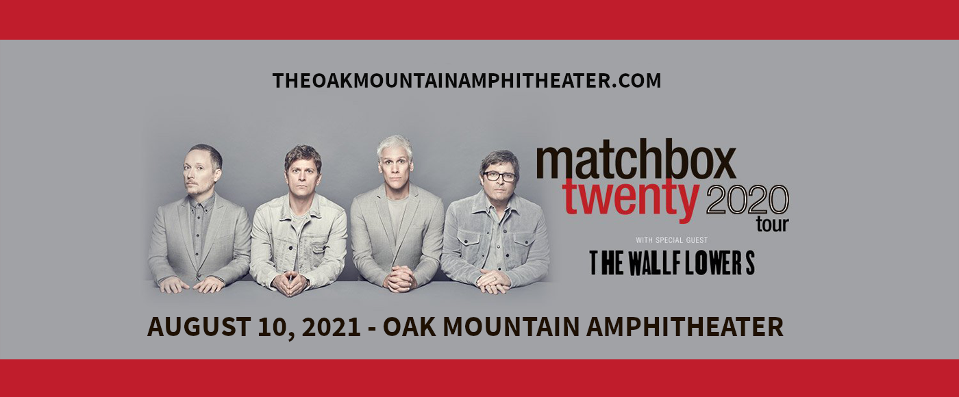 Matchbox Twenty & The Wallflowers at Oak Mountain Amphitheatre