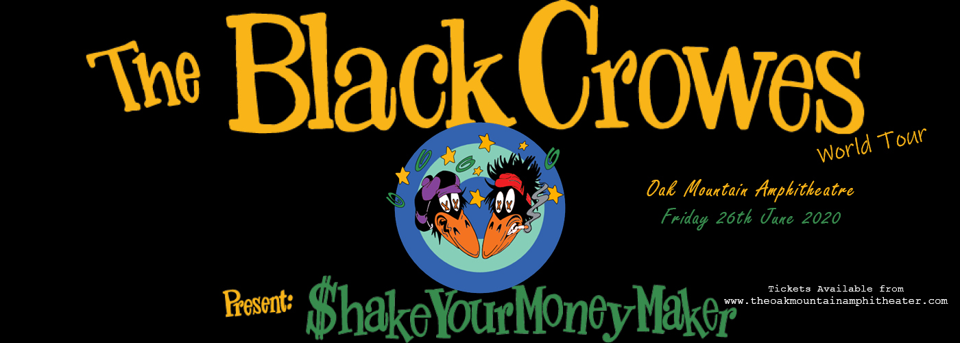 The Black Crowes - Shake Your Money Maker at Oak Mountain Amphitheatre