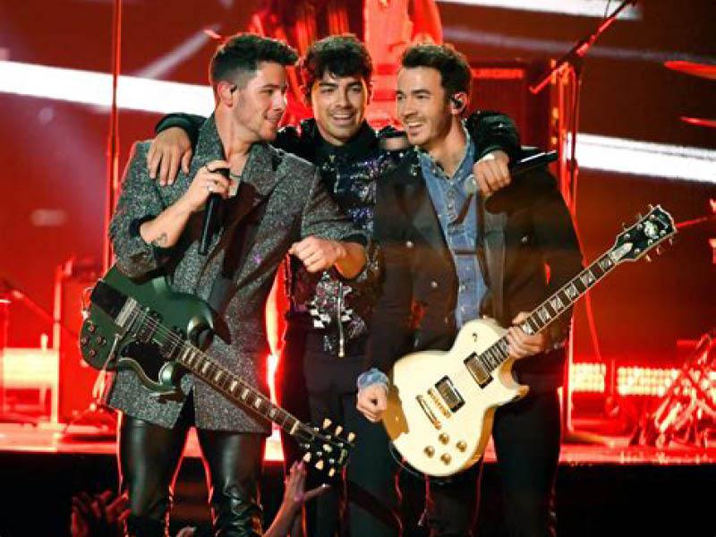 The Jonas Brothers at Oak Mountain Amphitheatre